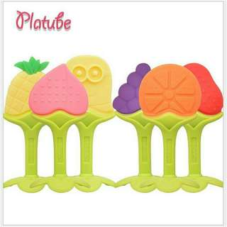 Teether merk platube , mainan bayi