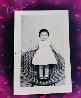 60'年代古董籐椅相片一