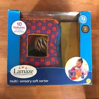 Baby toy: Lamaze Multi-Sensory Soft Sorter