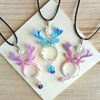 Small Antler Necklace