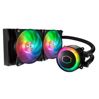 Cooler Master MasterLiquid ML240R Addressable RGB All-in-one CPU Liquid Cooler Dual Chamber INTEL/AMD Support Cooling