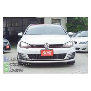 2014  VW - GTI MK7  2.0  免頭期 / 免保人 / 找錢5-10萬  有任何問題都可以來電詢問