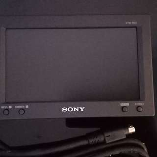 Sony car moniter.