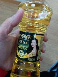 長壽花金胚玉米油 500毫升 全新未開封