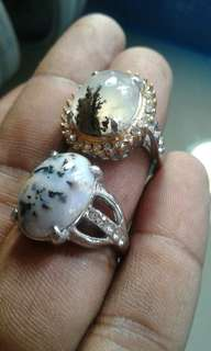 Dendrite bulu macam ring for leadys