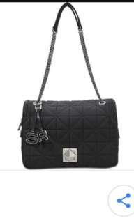 sonia rykiel iconic le clou quilted chain classic flap bag