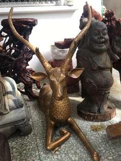 老铜鹿(58斤)