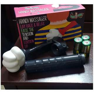 Handi Massager: Lay Back & Relax Ease The Tension And Loosen Up