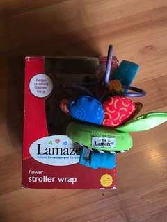 Baby toy: Lamaze Flower Stroller Wrap