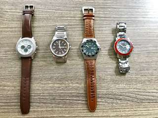 Rush Sale: 4 Different Watches
