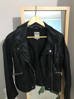 Zara Faux Leather Jacket