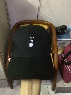 topi miniso hitam