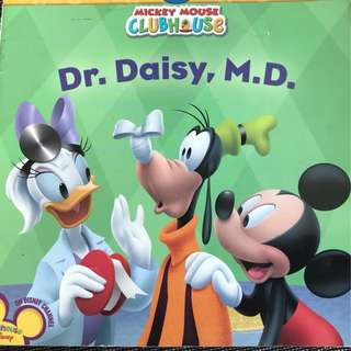 Mickey Mouse Clubhouse children's book