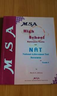 MSA High School entrance tests