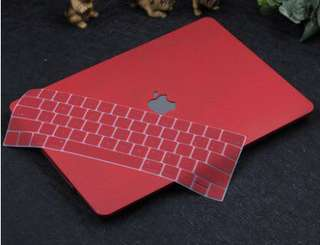✔️INSTOCKS✔️ Maroon Macbook Casing