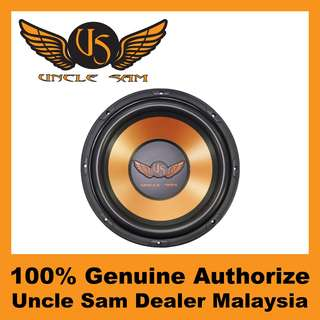 "Uncle Sam 12"" Performance Subwoofer, 250W - US124"