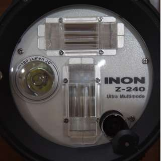 INON Z240 Type 4 Underwater Strobe Flash for Scuba Diving - LIKE NEW!