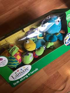 Baby toy: Lamaze Link Along Friends stroller toys