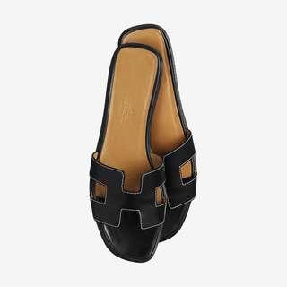 Hermes Oran Slippers 40,5