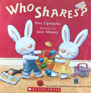 Who shares children's book