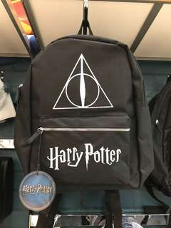 HARRY POTTER BLACK BACKPACK