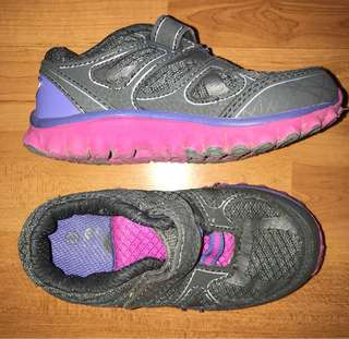 Girl's toddler rubber shoes