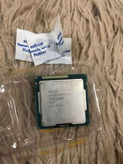 I5 3470 desktop 4 cores Intel CPU with thermal compound