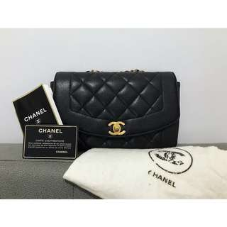 Vintage Chanel Diana Bag Caviar 22cm