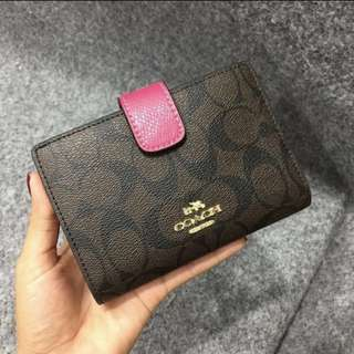 AUTHENTIC FO COACH WALLET