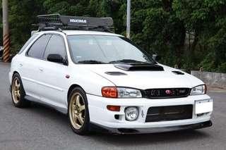 正2000年IMPREZA GF8 GT 4WD 白色