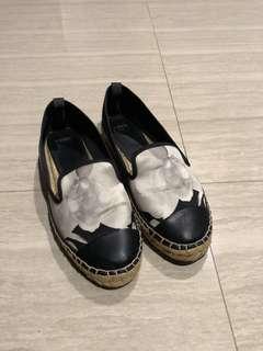 Fendi Satin Loafers
