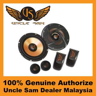"Uncle Sam 6.5"" 2-Way Component Speaker - US6.2"