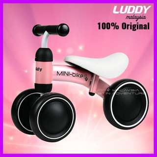 PINK - Original Luddy Minibike / Balance Bike / push bike / walker / mini bike