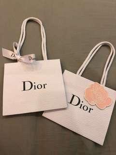 Dior Paper Bag