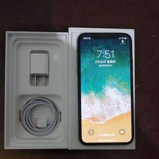 Iphone x 64g 黑色 保固至2019.04.28