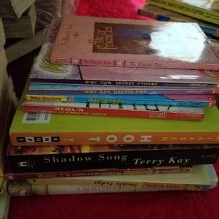 RUSH SALE! BOOKS!