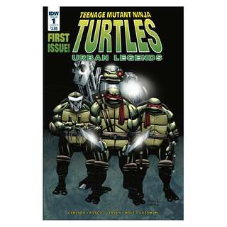 Teenage Mutant Ninja Turtles Urban Legends #1