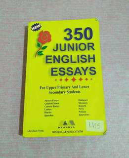 350 Junior English Essays