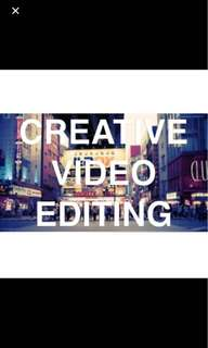VIDEO EDITING, SHOOTS & ALL OTHER SERVICES