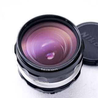 Nikon 28mm f3.5 AI manual focus lens