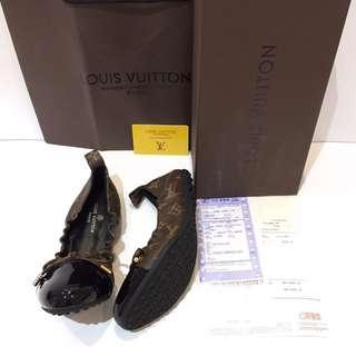 Sepatu Lv Wanita Flat Shoes Mirror Quality