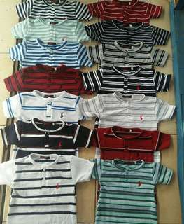 Polo button Stripes