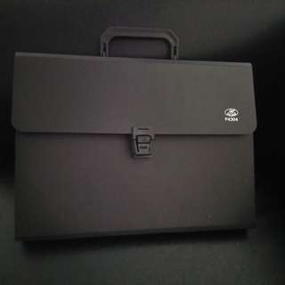 A4 Document Case with 13 Compartments & Swing Handle. Brand new, never used