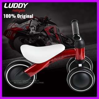 RED - Original Luddy Minibike / Balance Bike / mini bike / push bike / walker
