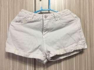 🚚 白色短褲 女