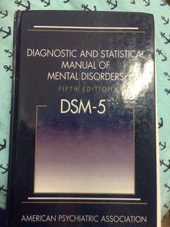 DSM-5 Fifth Edition