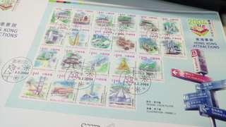 香港景致 2004年 正式紀念封