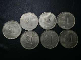 Set Complete Malaysia Parlimen $1