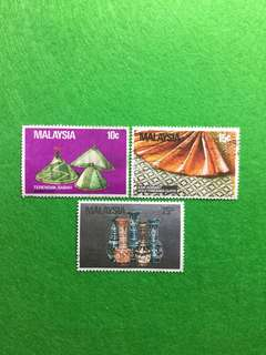 1982 Handicraft of Malaysia Set of Used