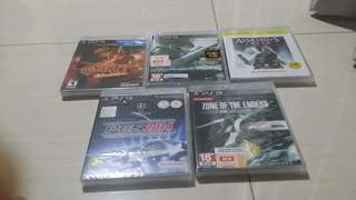 Brand new various ps3 games assassin's creed revelations metal gear rising free normal postage